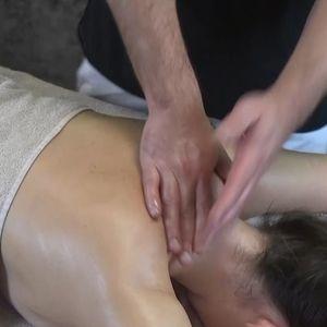 6. Массаж груди и зоны декольте. Шейно-воротниковая зона. Задняя поверхность шеи. Массаж стоп