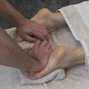Практика 3. Массаж задней поверхности  ног