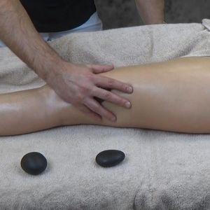 3.  Массажные приемы. Мышечная проработка бедер и голени.